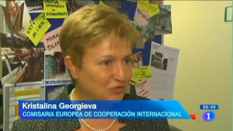 La iniciativa EU Aid Volunteers en Los Desayunos de TVE